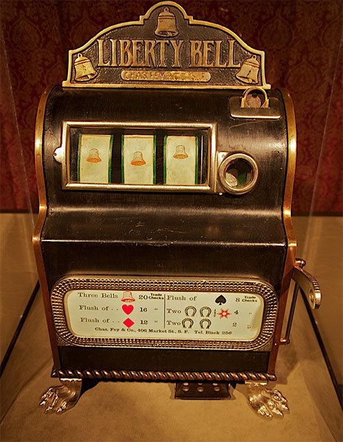 lang voor het online casino begon het met de liberty bell gokkast
