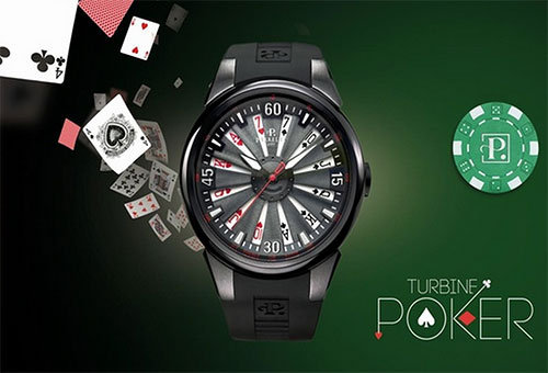 Perrelet Turbine Poker Watch
