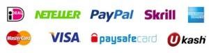 betaalmethoden online casino's