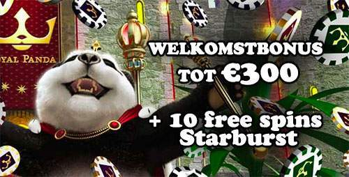 royal panda casino welkomstbonus € 300