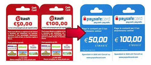 ukash overgenomen door paysafecard
