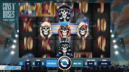 guns 'n roses slot game