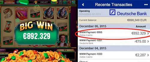 Nederlandse vakkenvuller wint groot bedrag bij Zodiac Casino