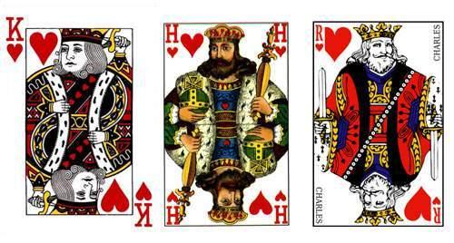 geschiedenis van het kaartspel: kaartspel stijlen
