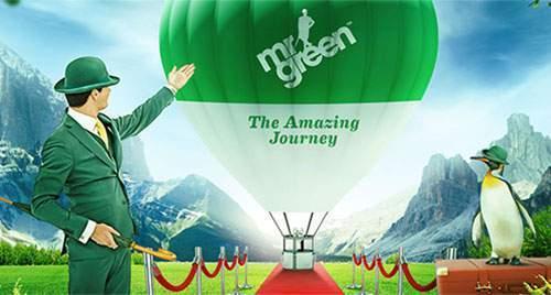 amazing journey aan bonussen bij Mr. Green casino