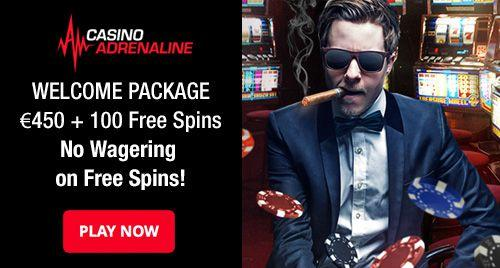 casino adrenaline wager free spins