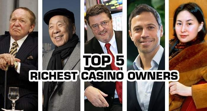 top 5 richest casino owners