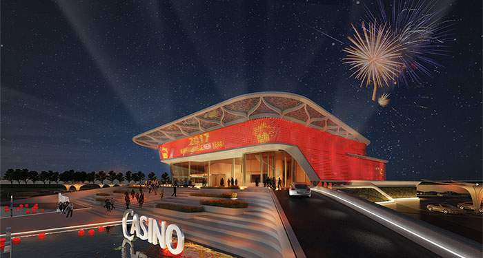 holland casino venlo futuristisch pand in Venlo
